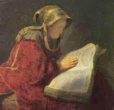 La preghiera incessante di Anna, la profetessa